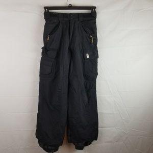 DC boys girls youth XL black snow pants